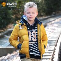 英格里奥童装儿童羽绒服短款男童运动休闲冬装羽绒服LLB1750