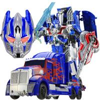孩子玩具儿童礼物变形玩具金刚4大黄蜂大号汽车人机器人模型男孩儿童玩具
