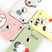 iphone6手�C��6s�O果6plus全包六超萌ip防摔套可�叟�