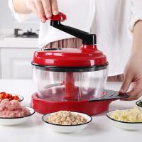 绞肉机家用手动绞菜搅拌机手摇料理机绞馅机小型 手动碎菜机