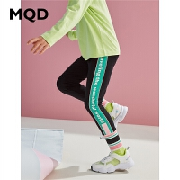 MQD童装女童打底裤秋装2020女童休闲弹力透气百搭修身韩版运动裤