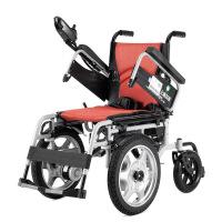 A 品质好货 【品牌家具】电动轮椅上海贝珍电动轮椅车BZ-6301 轻便折叠便携老年人残疾