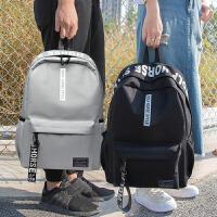 简约女书包双肩包韩版学院风高中学生电脑包休闲旅行背包潮流女包