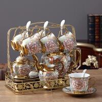 欧式陶瓷摆件客厅电视柜酒柜创意家居装饰品奢华茶几摆设结婚礼物