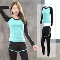 瑜伽服运动套装女秋冬新款健身房跑步宽松速干衣专业健身服
