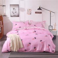 床上用品四件套 卡通被套床单1.8米学生宿舍三件套1.2/1.5/2.0m