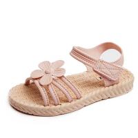中大童公主儿童鞋子软底小童小女孩童鞋新款时尚女童夏季凉鞋