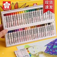 樱花SAKURA XLP12油画棒樱花中粗油画棒12色-16色-25色-36色-48色