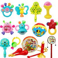 婴儿玩具0-1岁手摇铃铛 新生儿手摇铃铛男孩女孩婴儿0-3-12一个月宝宝0-1岁手拿儿童玩具 全套装