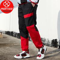 Nike/耐克男裤新款运动裤跑步训练健身时尚宽松透气舒适休闲梭织长裤子CN8513-011