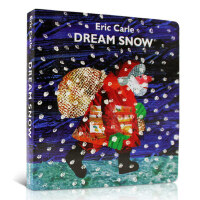 Eric Carle's only Christmas book is now a board book新作品Dream Snow 纸板书 英文原版图画故事书