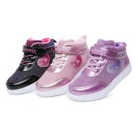天美意童鞋女童运动鞋秋冬新款女童休闲鞋儿童旅游鞋学生运动鞋DX0292