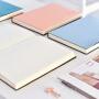 三年二班文具Z 笔记本子创意皮面记事本简约学生日记本a5横线本Q