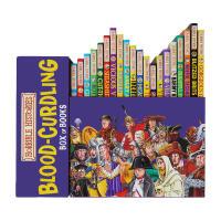 可怕的历史 英文原版 Horrible Histories Blood Curdling 20册盒装 糟糕历史 CBBC英剧原著 可怕的科学同系列