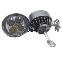 踏板摩托车强光射灯电瓶电动车led大灯泡后视镜车灯防水外置