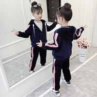 2019秋季新款卫衣套装儿童女童童装春秋洋气女孩运动套装