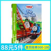 托马斯和朋友们Thomas and Friends The Big Job英文原版分级阅读入门级Reading Lad