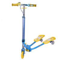 小丽明儿童蛙式滑板车铝合金三轮滑板车XLM-904