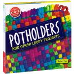 Potholders 英文原版 Klutz 手工Diy制作 女孩手工编织