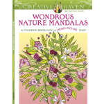 Creative Haven Wondrous Nature Mandalas (【按需印刷】)