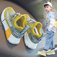 男童鞋子镂空网鞋男孩运动鞋夏季儿童透气网面椰子鞋