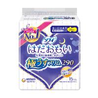 日本进口苏菲温柔肌极薄29cm夜用卫生巾 15片