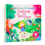Usborne出品 金发姑娘与熊 Goldilocks and the Three Bears 英文原版绘本 尤思伯恩