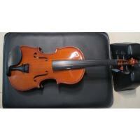 管弦乐器 弦乐 4�M3小提琴 四分之三 小提琴 初学 小提琴 入门 4008 送(盒+弓子+松香+码子)