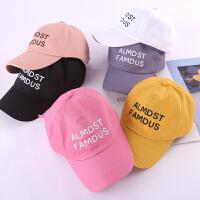 女童遮阳帽宝宝太阳帽男童棒球帽儿童鸭舌帽夏季薄款可爱帽子