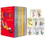 英文原版儿童书 雷梦拉八岁系列 8册全套装 The Complete Ramona Collection 雷梦拉和爸爸
