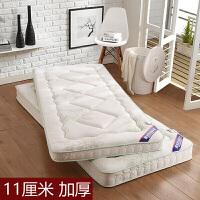 一二床垫单人学生宿舍1.2榻榻海绵折叠垫0.9x1.9m垫被1.5定制