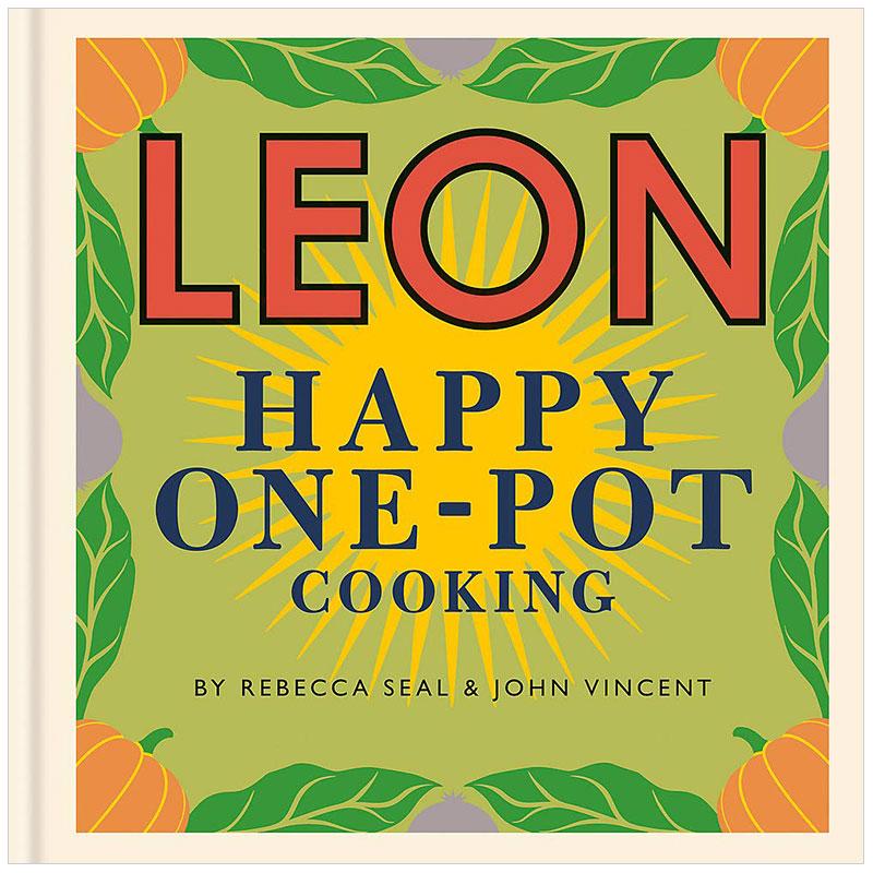 LEON Happy One-pot Cooking 快乐里昂的一锅烹饪 英文原版餐饮烹饪 善本图书 汇聚全球出版物,让阅读改变生活,给你无限知识