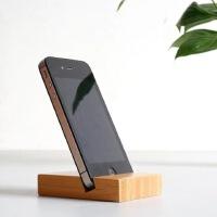 【包邮】手机支架 竹木 竹子 创意手机支架 桌面手机支架 懒人支架 苹果 三星 小米 华为 联想 酷派 魅族 手机通用