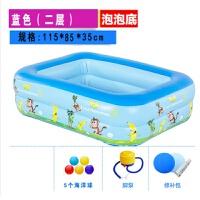 小孩游泳池家用充气游泳池儿童加厚婴儿童洗澡桶浴盆小孩子宝宝戏水池超大号儿童游泳池家用