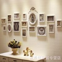 2019新品背景相框墙创意组合照片墙简约现代客厅组合连体挂墙装饰实木欧式 其他尺寸