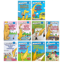 I can read Level 1丹尼和恐龙8本套装 Syd Hoff 悉德・霍夫经典英文原版绘本Danny and the Dinosaur 幼儿启蒙认知亲子读物Happy Birthday