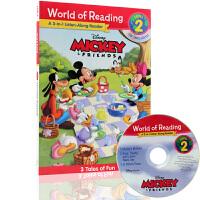 米奇和他的朋友们三合一故事图画书 Mickey&Friends: A 3-in-1 Listen-Along Read