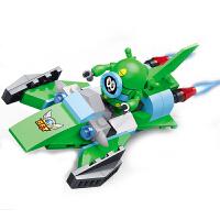 星钻积木 赛尔号战神联盟星际飞船益智拼装玩具 阿铁打 卡璐璐 艾里逊 赛小息