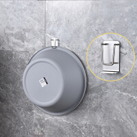 浴室拖鞋架墙壁挂式免打孔挂钩卫生间置物架厕所收纳沥水架子挂架 1层