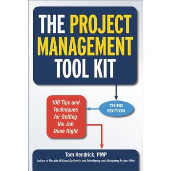 【预订】The Project Management Tool Kit  100 Tips and Techniques for Getting the Job Done Right 预订商品,需要1-3个月发货,非质量问题不接受退换货。