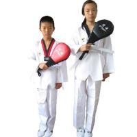春夏装条纹跆拳道服装 成人跆拳道服 跆拳道服儿童