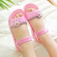 女童凉鞋儿童夏季宝宝凉拖女童鞋小孩软底公主鞋