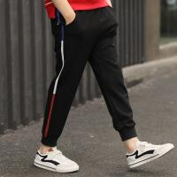 男童春秋裤子童装学生长裤新款儿童休闲运动裤小中大童长裤
