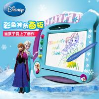 Disney 迪士尼 彩色神奇画板 DS-1591 米奇 冰雪奇缘公主彩色神奇画板磁性画板多色画板 当当自营