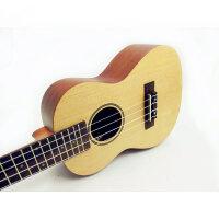 货到付款 Vorson ukulele 23寸 C型 尤克里里 乌克丽丽 云杉面板 音色好 木质优 23寸夏威夷小四弦