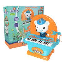 小猪佩奇音乐台儿童迷你电子琴玩具海底小纵队宝宝多功能钢琴3-6 海底小纵队