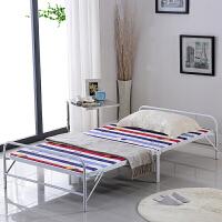 折叠床简易单人床办公室午休床行军床加固铁艺床双人床加固木板陪护床