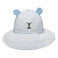 儿童帽太阳帽沙滩帽婴儿帽子夏季薄款男女宝宝渔夫帽遮阳帽盆帽