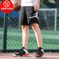Nike/耐克男裤新款训练毛边篮球运动五分裤宽松舒适针织休闲短裤AQ3116-010