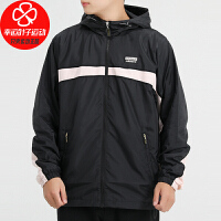Adidas/阿迪达斯三叶草男装新款运动服跑步训练健身休闲时尚舒适连帽夹克外套GJ6742
